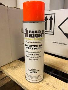 Upside Down Paint Flourescent Orange 1/EA12/CS 60CS/Pallet