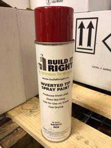 Upside Down Paint  APWA Safety Red 1/EA12/CS 60CS/Pallet