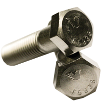 """5/16""""-18x4"""",(Partial Thread) UNC HEX CAP SCREWS COARSE STAINLESS 316 (Pkg Qty: 50pcs  )"""
