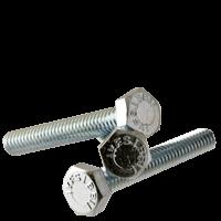"1/4""-20x2 1/2"",(Full Thread) GRADE 5 HEX TAP BOLTS MED. CARBON PLAIN (Pkg Qty: 100pcs  )"