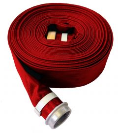 "6""x 50ft M&F NPSH HD PVC Discharge Hose 1/EA"