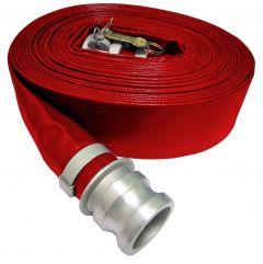 "2-1/2"" x 50ft Cam Lock C&E HD PVC Discharge Hose 1/EA"
