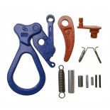 CAMPBELL SHACKLE KIT,1/2 TON GXL CLAMP