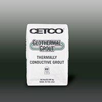 CETCO GEOTHERMAL GROUT-Enhanced Thermally Conductive Grout 50LB Bag