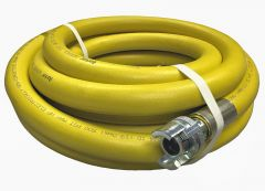 "3/4""X50FT Yellow Hvy Duty Air Hose w/Universal""Chicago"" Fitting"