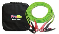 Century Wire & Cable 25FT 2GA Pro Glo Jumper/Booster Cable Green w/Parrot Jaw Clamp 1/EA