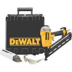 "DEWALT 15 GA 1 1/4"" - 2 1/2"" Angled Finish Nailer Kit"