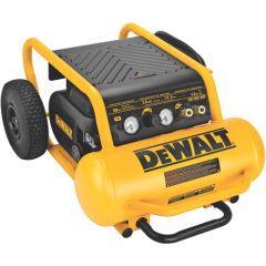 DEWALT 200 PSI 4.5 Gallon Oil Free High Pressure Low Noise Compressor