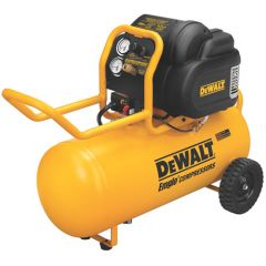 DEWALT 1.9 HP 200 PSI Oil Free High Pressure Low Noise Horizontal Portable Compressor