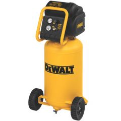 DEWALT 1.9 HP 200 PSI Oil Free High Pressure Low Noise Vertical Portable Compressor