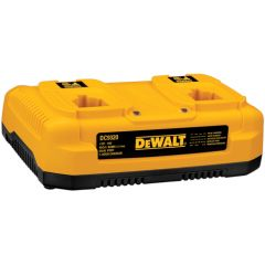 DEWALT Heavy Duty 7.2V-18V NiCd/NiMH/Li-Ion Dual Port 1 Hour Charger