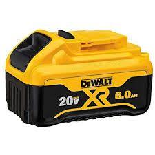 DEWALT 20V MAX LIION 6.0AH BATTERY PACK