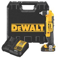 DEWALT 20V MAX Li-Ion Compact Right Angle Drill Kit (1.5 Ah)
