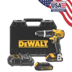 DEWALT 20V MAX Li-Ion Compact Hammerdrill/driver Kit (1.5 Ah)