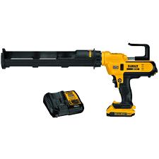 DEWALT 20V 600 ML ADHESIVE GUN KIT