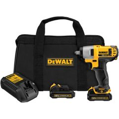 "DEWALT 12V MAX* Lithium Ion 3/8"" Impact Wrench Kit"