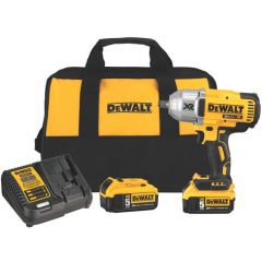 DEWALT 20V BL1/2IN IMPACT WRENCH KIT W RING