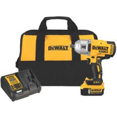 DEWALT 20V BL1/2IN IMPACT WRENCH KIT W PIN