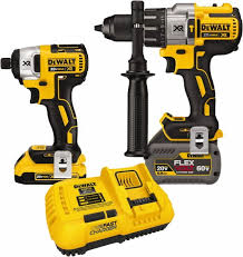 DEWALT FLEXVOLT HAMMERDRILL & IMPACT KIT