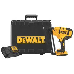 DEWALT 20V MAX 16GA ANGLED FINISH NAILER KIT