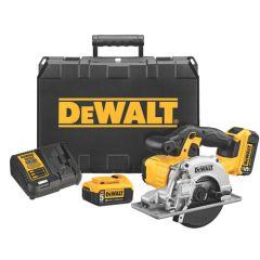 DEWALT 20V MAX* Lithium Ion Metal Cutting Circular Saw Kit (5.0 Ah)
