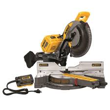 DEWALT 120V MAX SLIDING MITER SAW W/ ADAPTER ONLY