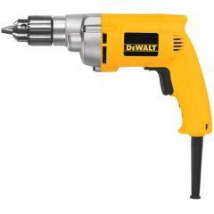 """DEWALT 3/8"""" 0-1200 rpm VSR Drill 3 wire plug 7.0 amp"""