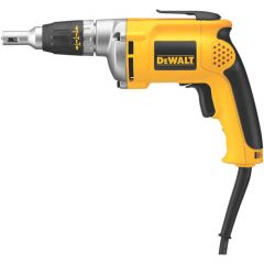 DEWALT 0-4000 rpm VSR Drywall Screwdriver w/50 ft. two prong cord 6.3 amp