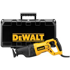 DEWALT VS Reciprocating Saw Kit 13 amp w/ Orbital Action, VS Dial and Keyless Blade Clamp