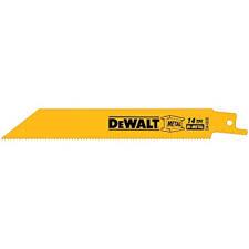 """DEWALT 8"""" 18TPI RECIP SAWBLADE (BULK) 100/bx"""