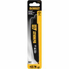 """DEWALT 12"""" 6TPI 2X Recip Blade 5pk"""