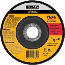 DEWALT DWT FV Wheel 4-1/2 x 1/4 x 7/8 25/bx