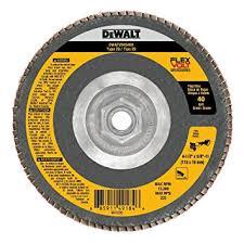 DEWALT 4-1/2 x 5/8-11 40G T29 FV Flap Disc 5/bx