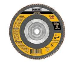 DEWALT 4-1/2 x 5/8-11 60G T29 FV Flap Disc 5/bx
