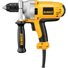 "DEWALT 1/2"" MID-HANDLE GRIP DRILL w/ KEYLESS ALL-METAL CHUCK, 10.0 AMP"