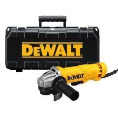 "DEWALT 11A, 11,000 RPM 4-1/2"" Paddle Switch Grinder w/ kitbox"