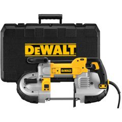 DEWALT Heavy Duty Variable Speed Deep Cut Portable Band Saw Kit