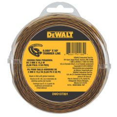 DEWALT DEWALT .080 String Trimmer Line-- 50'