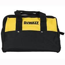 """DEWALT 13"""" 6 Pocket Heavy Duty Nylon Canvas Contractor Tool Bag 1/EA"""