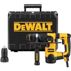 "DeWALT 1""L-ShapeSDS+ Rotary Hammer Kit w/Quick Change Chuck 1/EA"