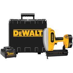 """DeWALT 18V Cordless 2"""" 18 Gauge Brad Nailer Kit 1/EA"""