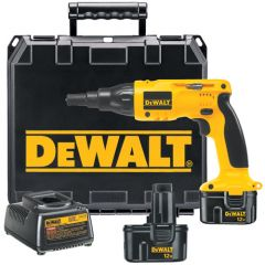 DeWALT 12V Cordless Drywall/Deck Screwdriver Kit 1/EA