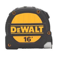 "DeWALT 16' x 1-1/4"" Short Tape 6/PK"