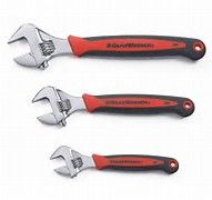 "GearWrench 3 Pc. 6"" 8"" & 10"" Cushion Grip Adj. Wrench Set 1/EA"