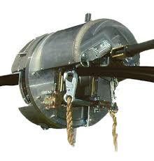 """GMP .065"""" Wire Dia. G Cable Lasher w/Chest 1/EA"""