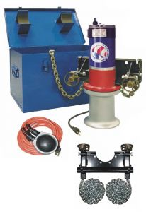 GMP BOX STEEL CAPSTAN WINCH