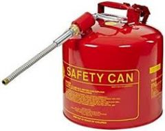 5 Gallon Gas Can Red Type II