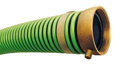 "2""x20ft Male&Female NPSH Green Weatherflex Suction Hose 1/EA"