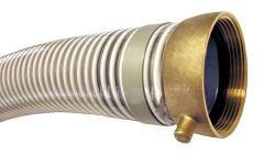"""1-1/2"""" x 20ft M&F NPSH Low Temp PVC Suction Hose 1/EA"""