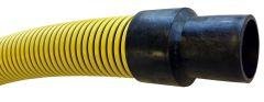 "2""x20ft M&F NPSH Lightweight BumbleBee Vac Suction Hose 1/EA"